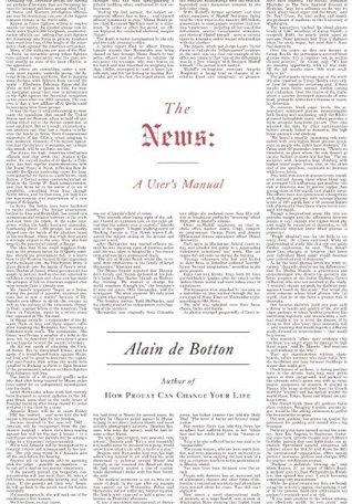 The News: A User's Manual by Alain de Botton — Reviews