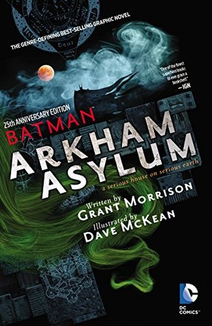 Batman: Arkham Asylum: A Serious House on Serious Earth, 25th Anniversary Edition