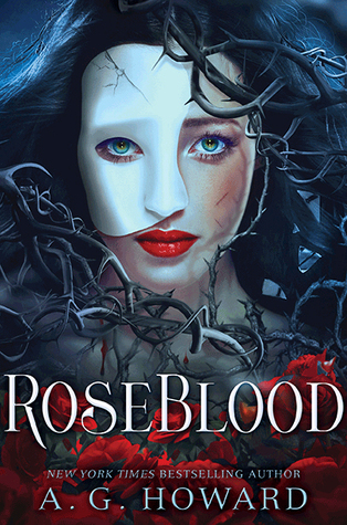 Image result for roseblood by ag howard