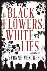 black flowers white lies