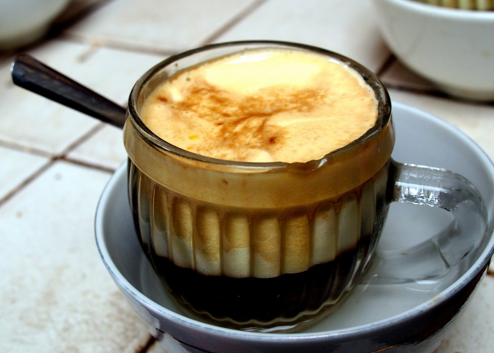 egg coffee