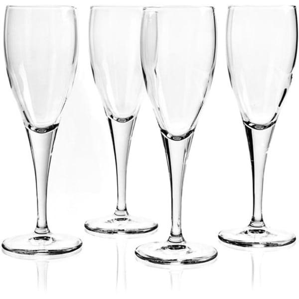 Bormioli Rocco Toscana Champagne Flutes (Set of 4)