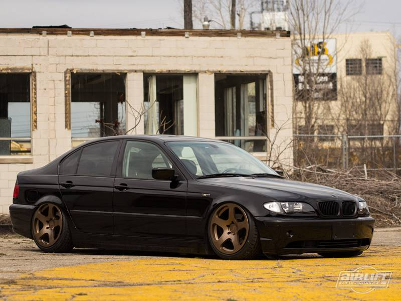 Airlift BMW E46 3 Series and M3 9906 Performance Air Ride