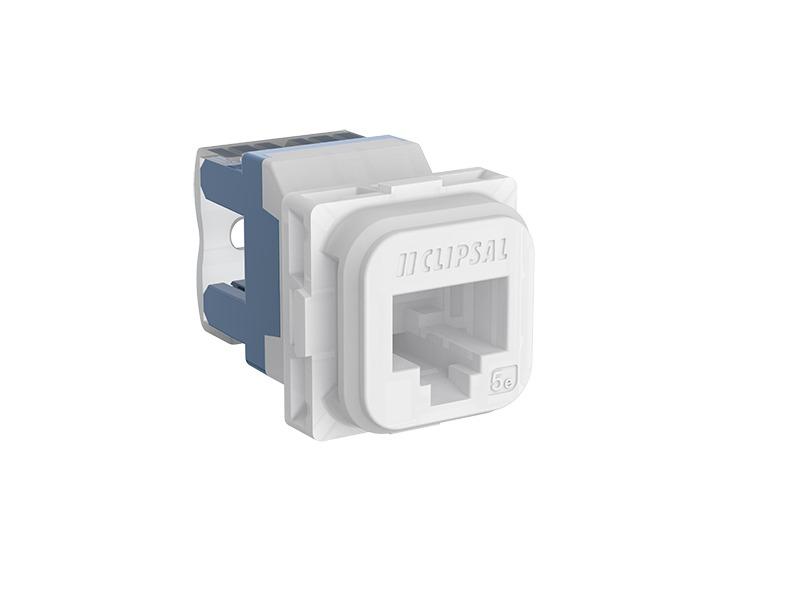Rj 45 Socket Wiring Diagram Clipsal Iconic 40rj45sma6 Tn Modular Socket Category 6