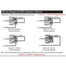 five way switch wiring diagram nutone doorbell clipsal saturn power points & switches | schnap electric products