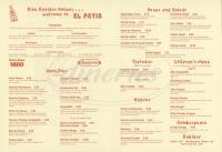 El Patio Menu - Simi Valley - Dineries
