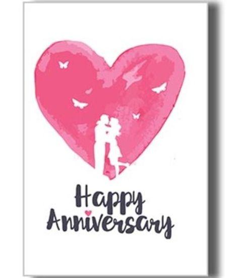 greeting card happy anniversary