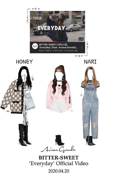 Ariana Grande Everyday Outfit : ariana, grande, everyday, outfit, BITTER-SWEET, [비터스윗], 'Everyday', [Feat., Ariana, Grande], Official, Video, Outfit, ShopLook