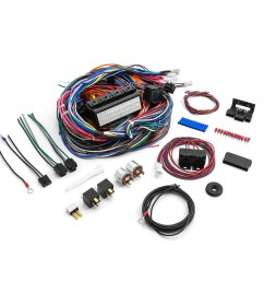 universal 20 circuit wiring harness kit street rod hot rod race car [ 1600 x 1600 Pixel ]
