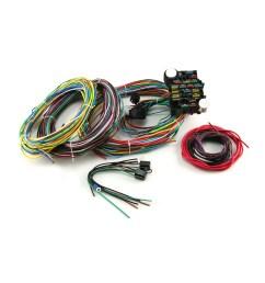 universal 22 circuit wiring harness kit [ 1600 x 1600 Pixel ]