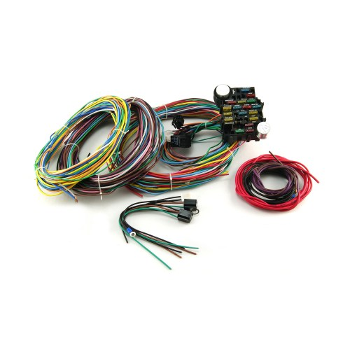 small resolution of universal 22 circuit wiring harness kit