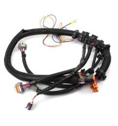 gm ls1 ls6 24 tooth black crank sensor wiring harness intake manifold mount [ 1600 x 1600 Pixel ]