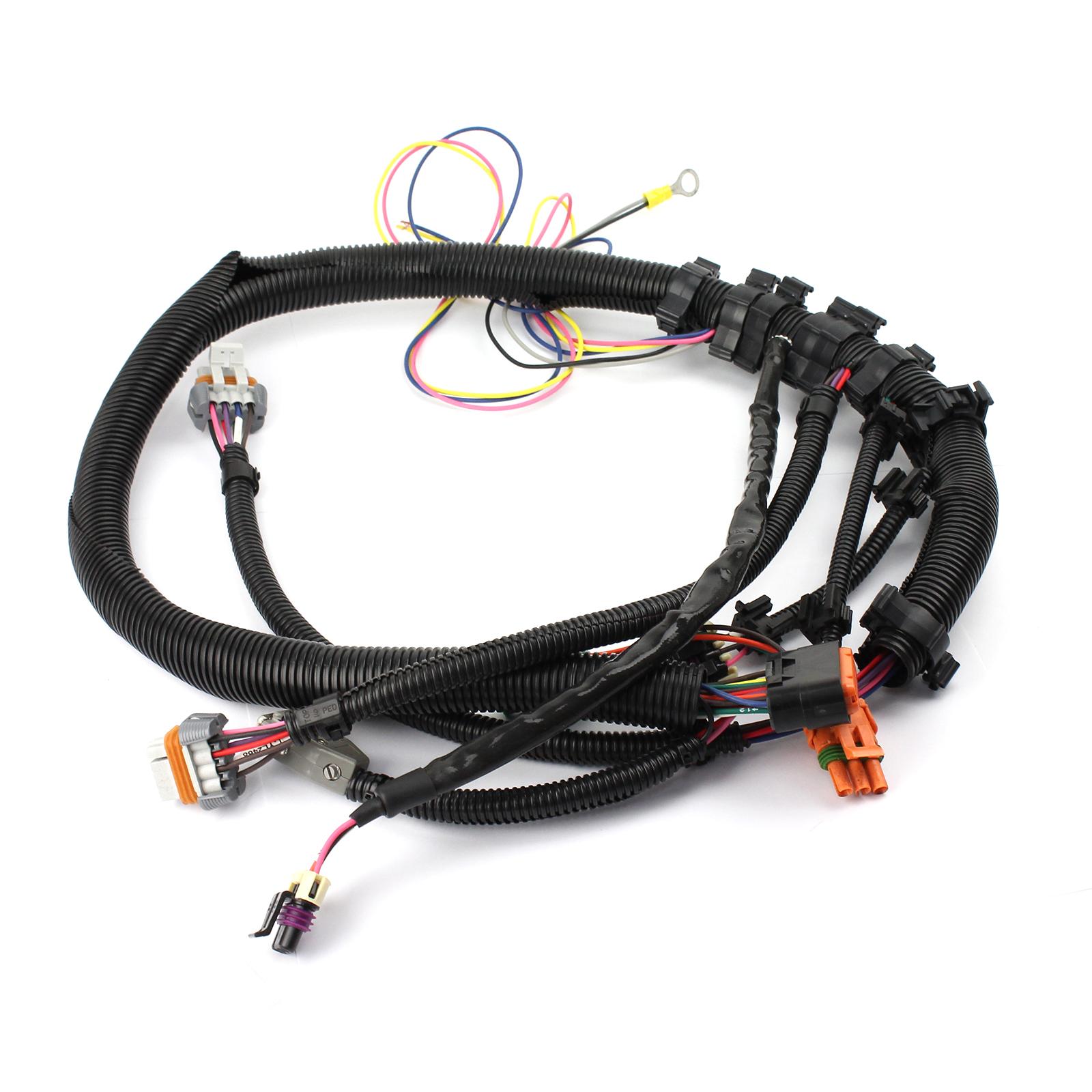hight resolution of gm ls1 ls6 24 tooth black crank sensor wiring harness intake manifold mount