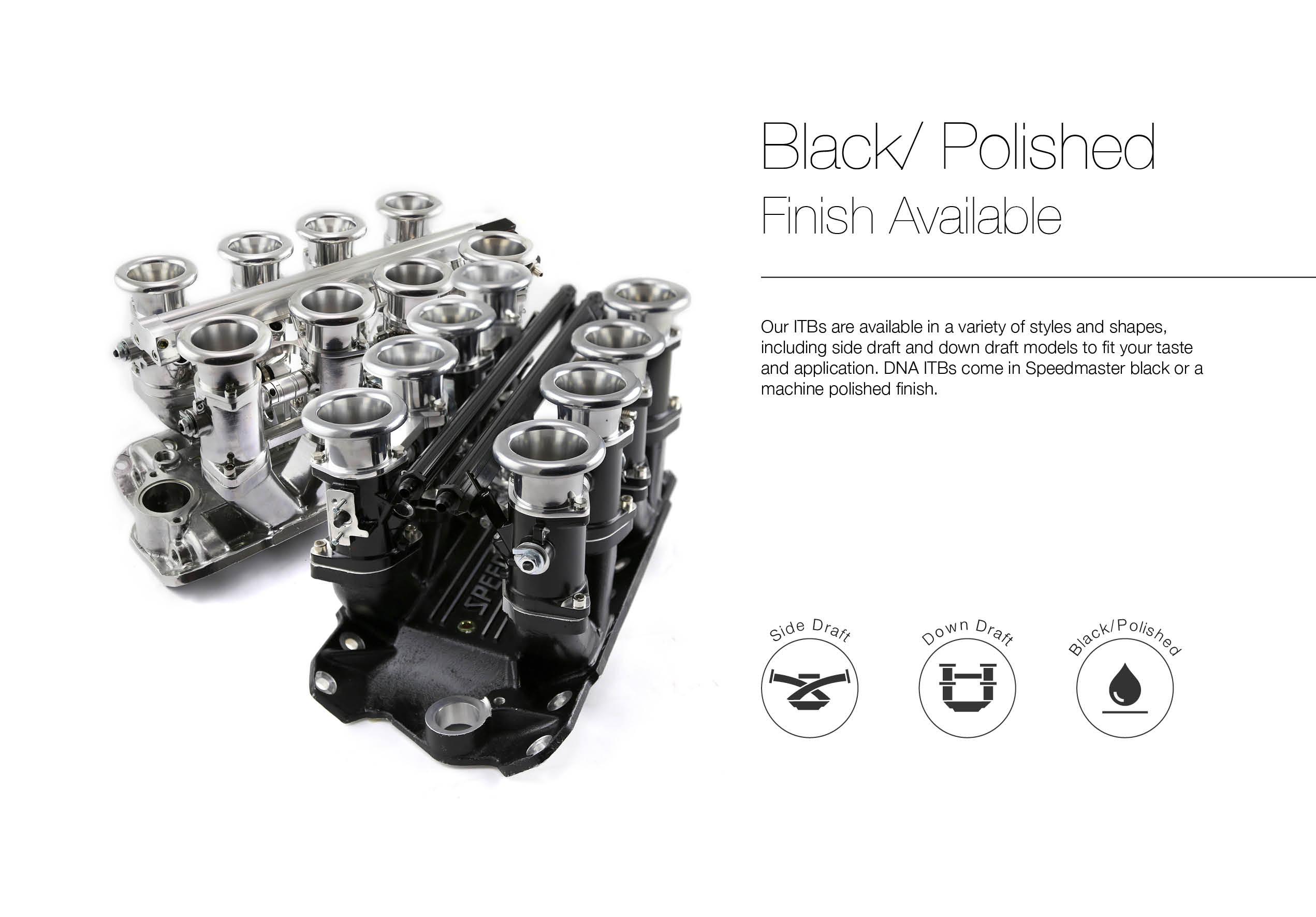 Ford 351w Windsor Sidedraft 8 Stack Efi Intake Manifold
