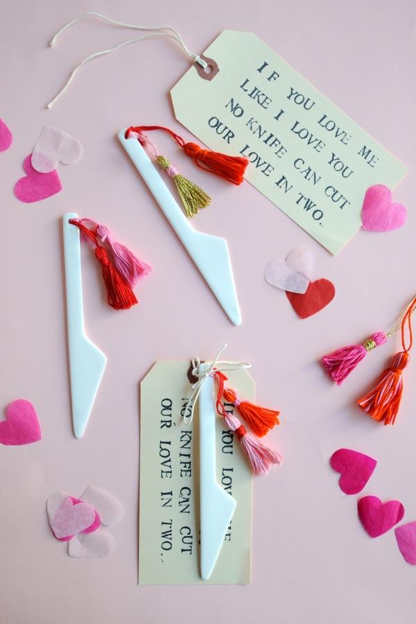 Valentine's Knife Tassel DIY