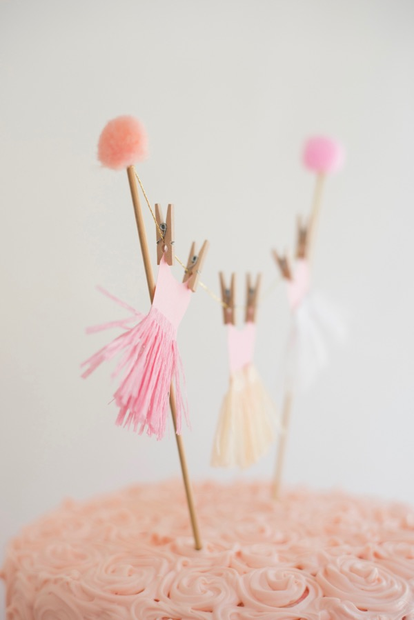 Happy Birthday Cake Topper Printable