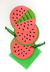 watermelon invites printable summer invitations