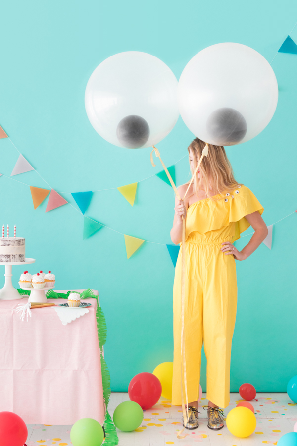 Giant Googly Eye Balloons OBSiGeN