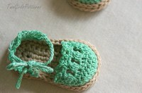 Crochet Pattern For Baby Espadrille Sandals - Crochet ...