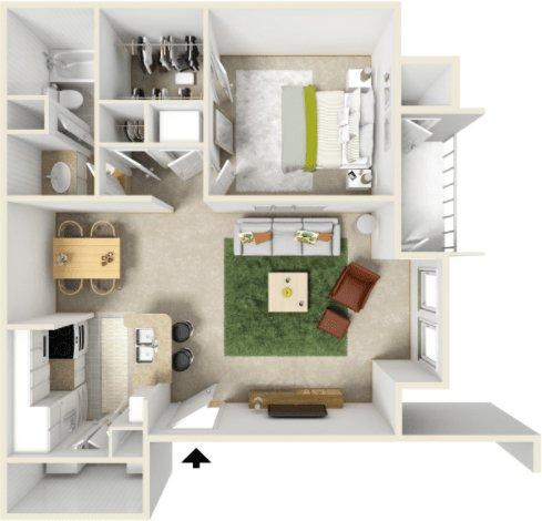 Waterford Apartment Homes Apartments Tulsa OK