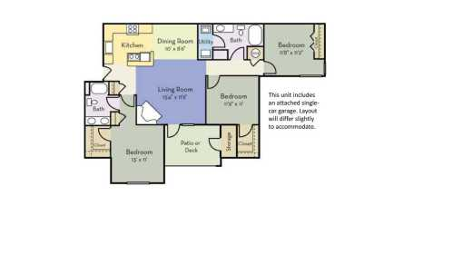 small resolution of 3 bedrooms 2 bathrooms apartment for rent at providence court in charlotte nc