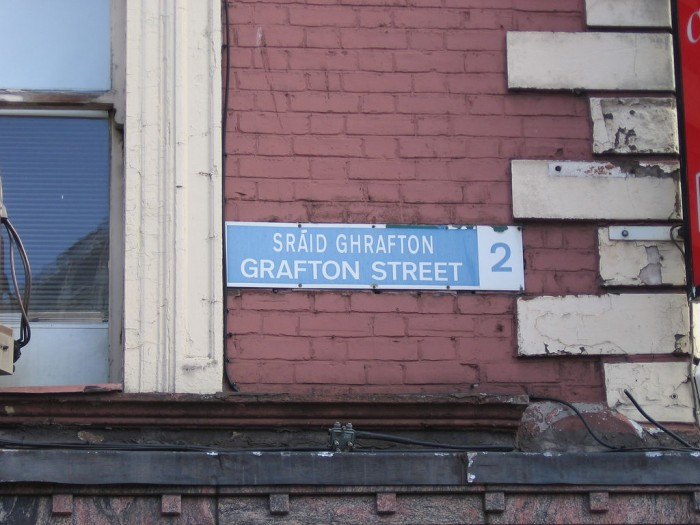 Grafton street | Dublin is awesome