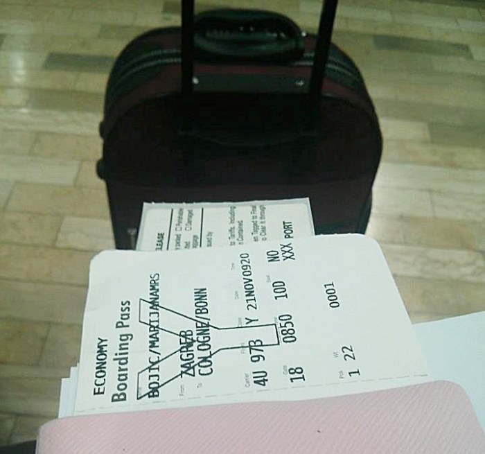 My first ever trip to Dublin, from Zagreb Airport