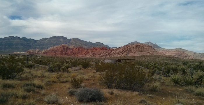 Red Rock Canyon as one of the stops on our USA road trip