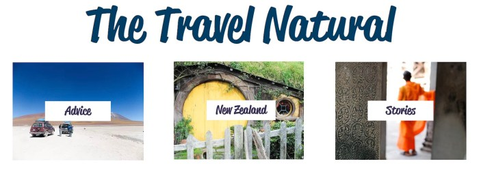 Destination inspiration: The Travel Natural