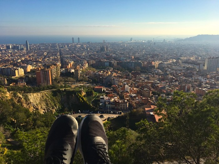 View from Búnquers del Carmel, Barcelona | Lady of Awesome