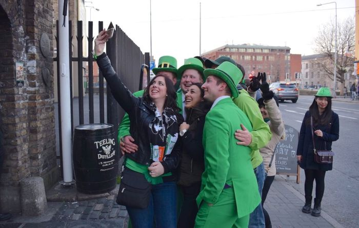 Paint the town green: Saint Patrick's Day Festival in Dublin