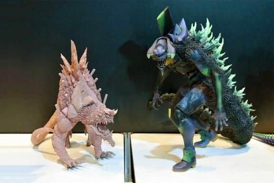 Godzilla x Evangelion Action Figure by X-Plus Toys