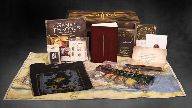 George R.R. Martin A Game of Thrones Box