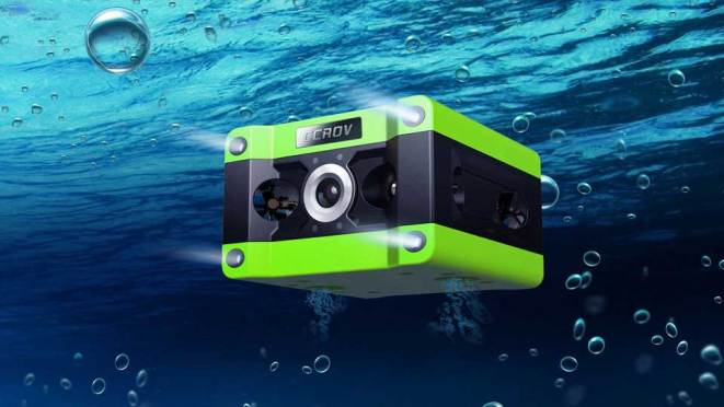 CCROV Underwater Drone with 4K Camera