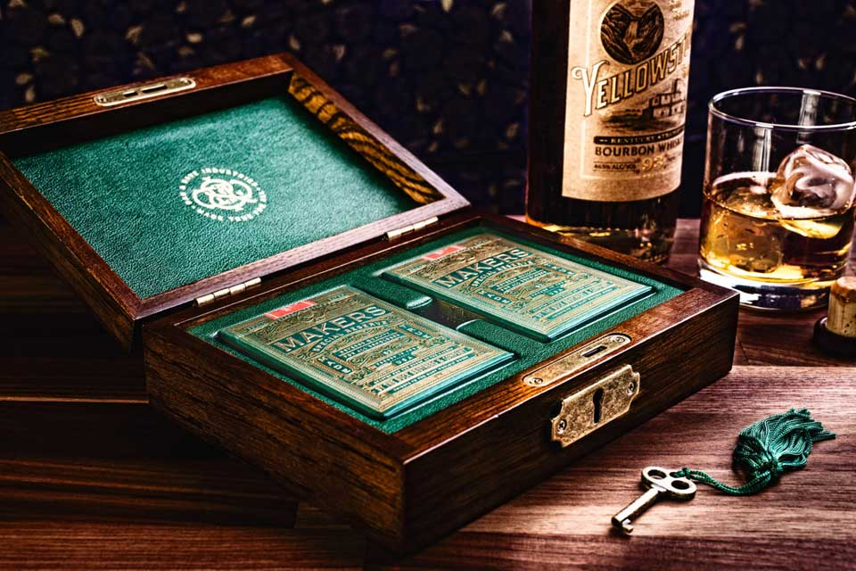 MAKERS Playing Cards Collectors Box Set Playing Cards Go