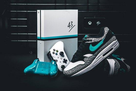 43einhalb Xbox One S Atmos x Air Max 1 Giveaway