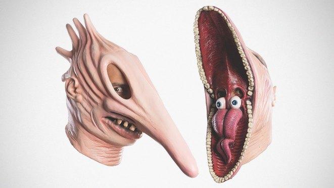 Rubie's Beetlejuice Scary Adam and Martha Mask