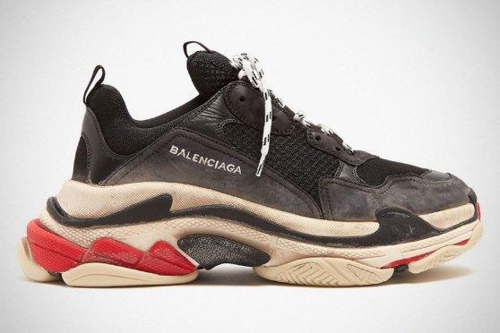 Balenciaga 'Distressed' Triple S Luxury Sneakers