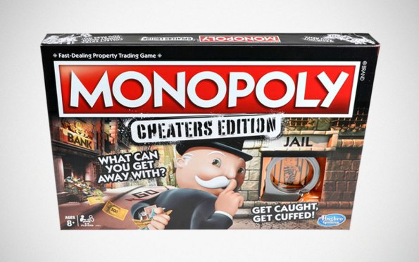 Monopoly Cheaters' Edition Board Game
