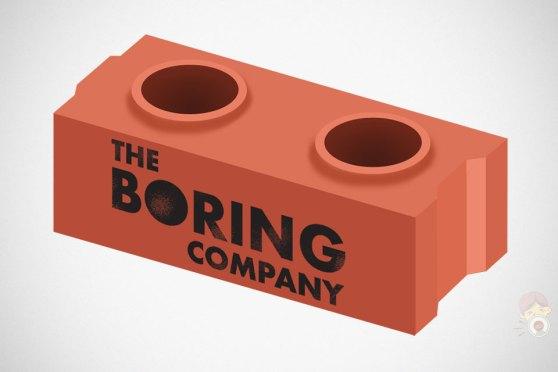 The Boring Company Life-size LEGO-like Bricks