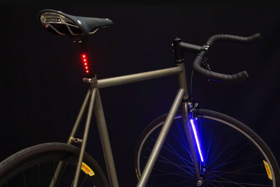 Integrated Lighting by Mission Bicycle Company