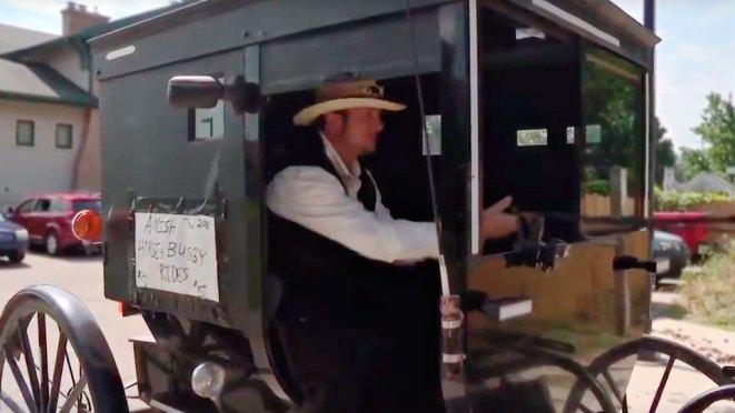 Amish Version of Uber Ride in Michigan