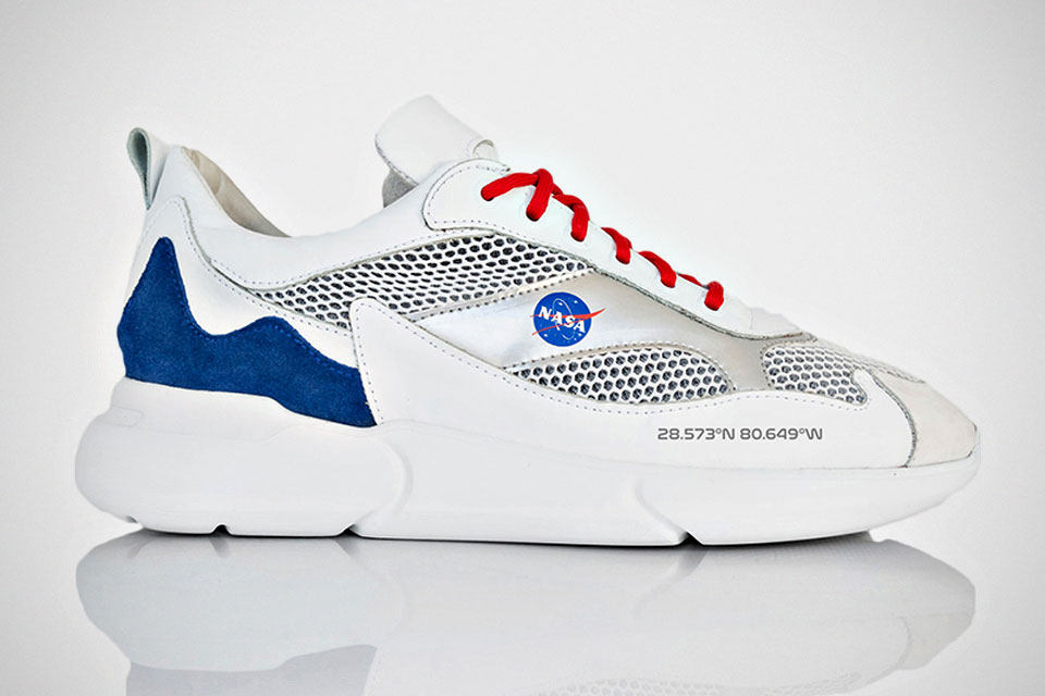 You Can Wear NASA On Your Feet With This Mercer Amsterdam Sneaker