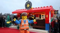 LEGO Built An Actual Coffee Shop With LEGO Bricks In