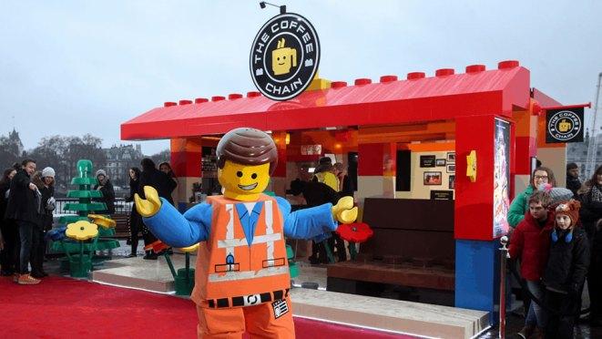 LEGO Pop-up Coffee Shop London