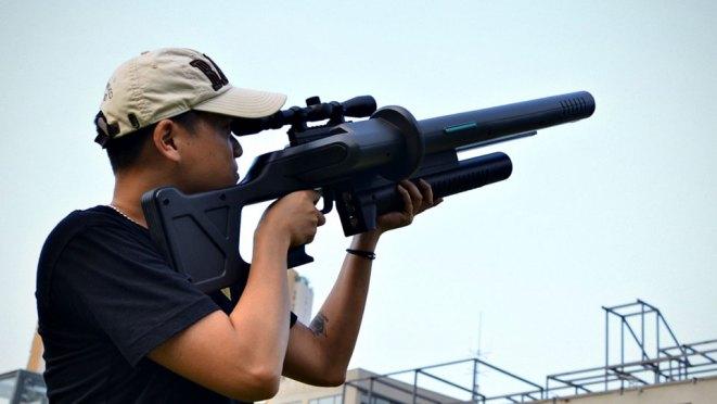 UAV Scrambler 300 Anti-Drone Gun