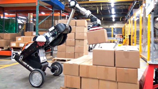 Boston Dynamics Handle Robot for Logistics