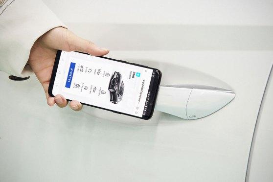 Hyundai Smartphone-based Digital Key