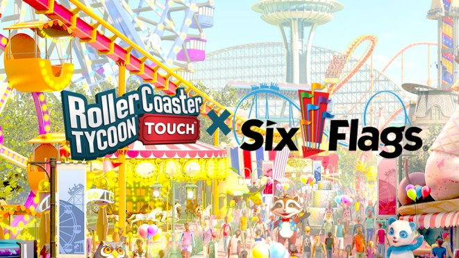 RollerCoaster Tycoon Touch To Feature Real-world Six Flags
