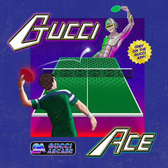 Arcade Games On Gucci Mobile App